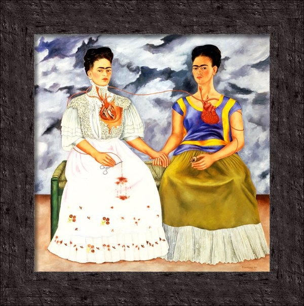 Pg Reproductions - Frida Kahlo The Two Frida... Print