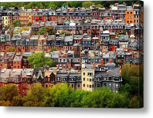 Rick Berk - Back Bay Print