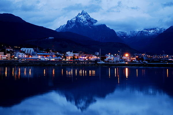 Bindu Viswanathan - Ushuaia by Night Print
