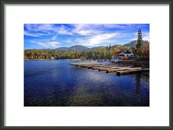 Joe Urbz - Lake Arrowhead California Print