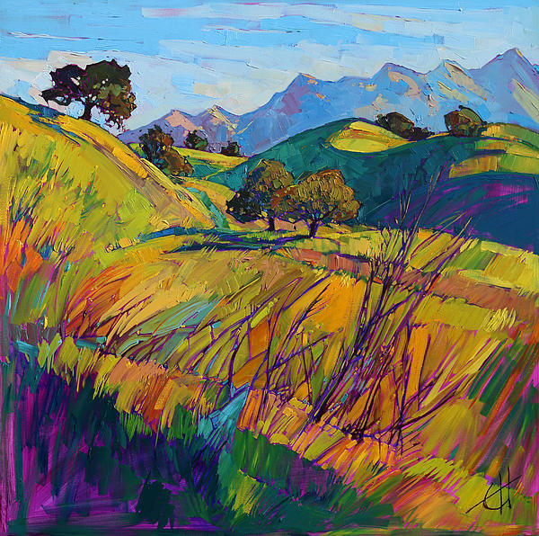 Erin Hanson - Color Curves Print
