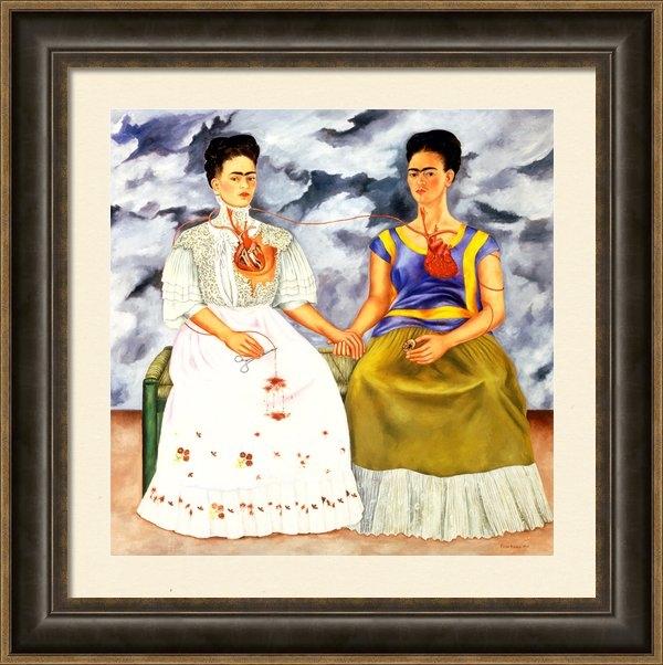 Pg Reproductions - Frida Kahlo The Two Frida... Print