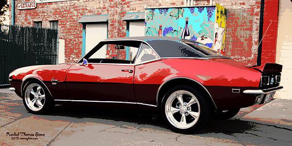 Randall Thomas Stone - 1968 Chevy Camaro SuperSp... Print