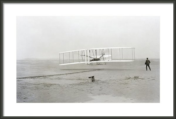 Daniel Hagerman - First Flight Captured On ... Print