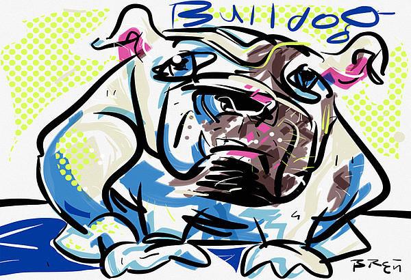 Brett LaGue - Bulldog Print