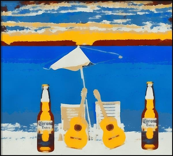 Dan Sproul - Corona Pop Art Print