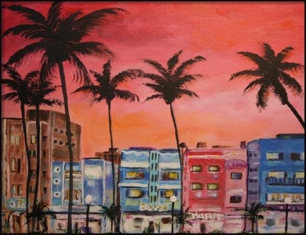 Dyanne Parker - South Beach Print