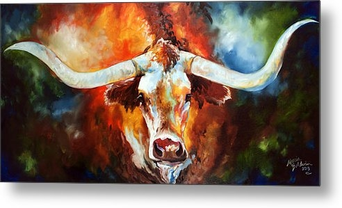 Marcia Baldwin - Ole Tex Longhorn Print