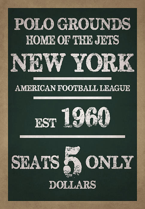 Joe Hamilton - New York Jets Print