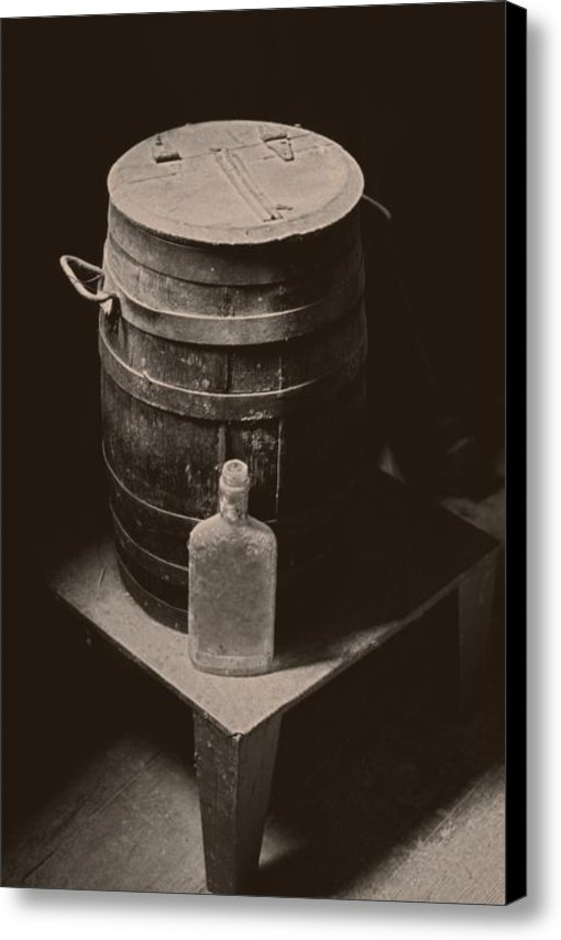 Murray Edwards - Old Barrel Still Print