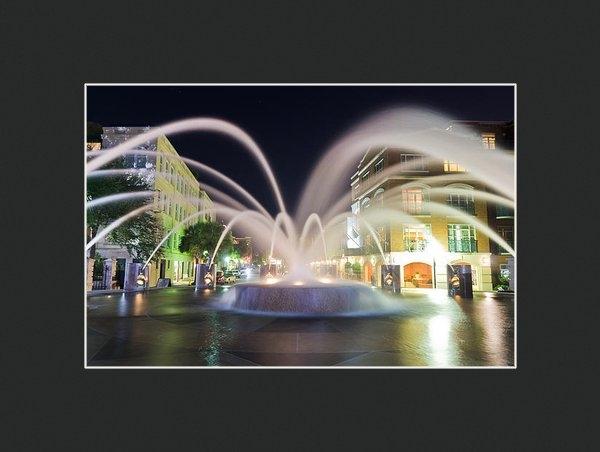 Drew Castelhano - Nocturnal Fountain  Print