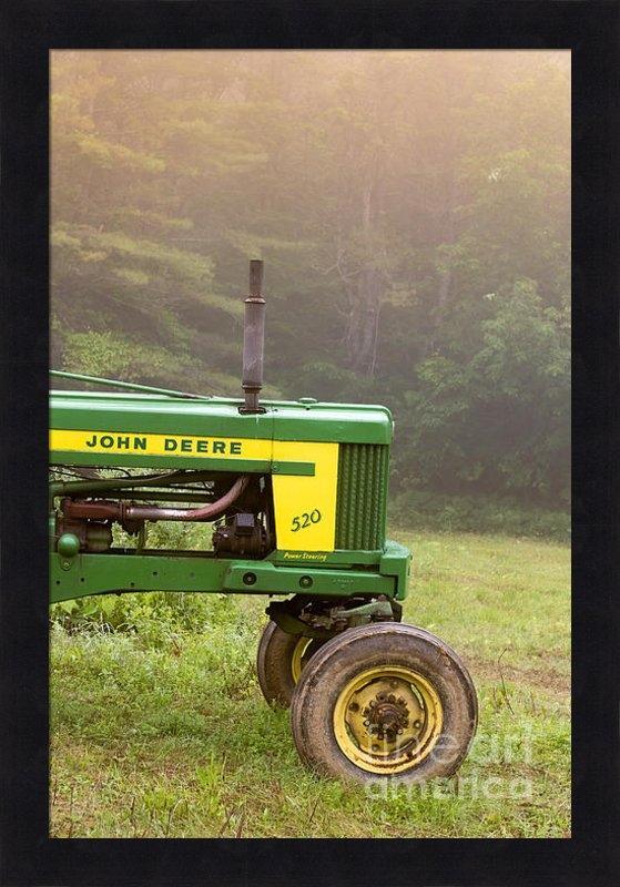 Edward Fielding - Classic John Deere 520 Tr... Print