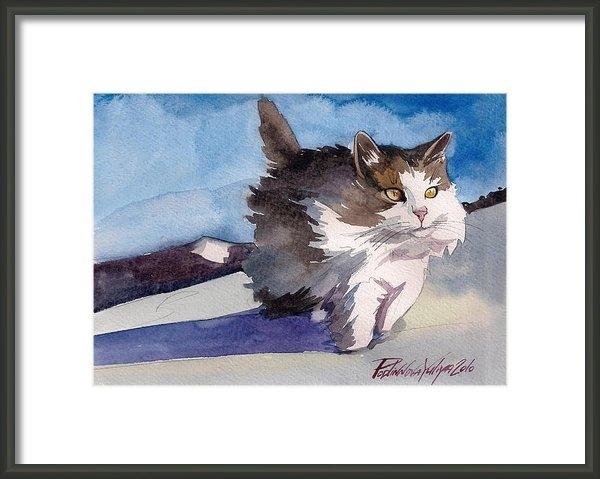 Yuliya Podlinnova - Forest Cat Print