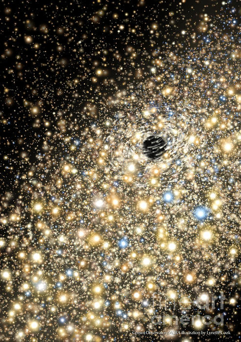 Lynette Cook - Supermassive Black Hole Print