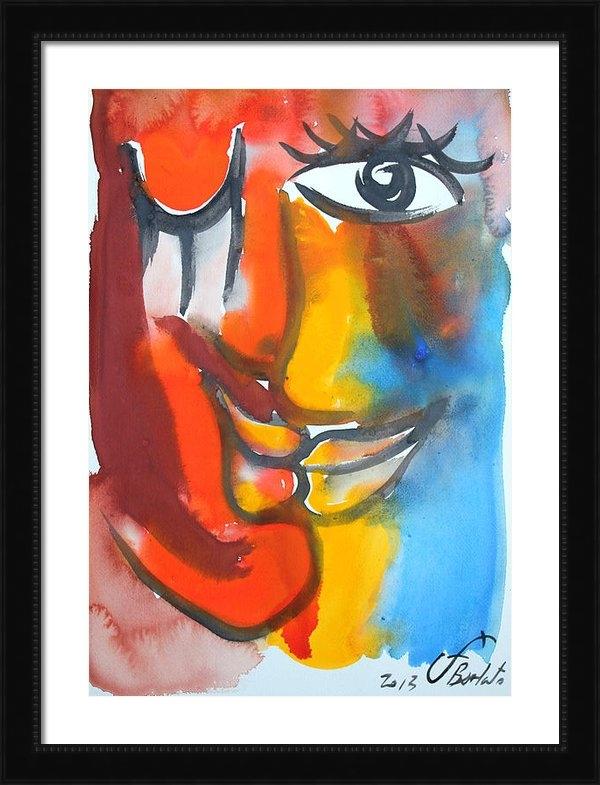 Jorge Berlato - The Kiss 41 Print