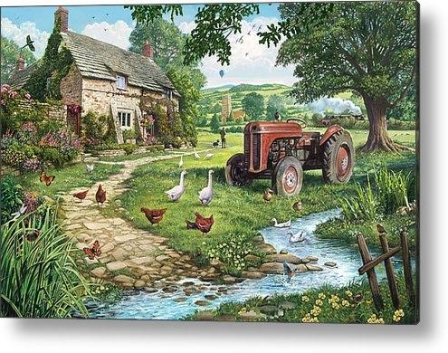 Steve Crisp - The Old Tractor Print