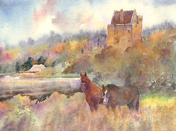 Keith W Thompson - Craggaunowen County Clare Print