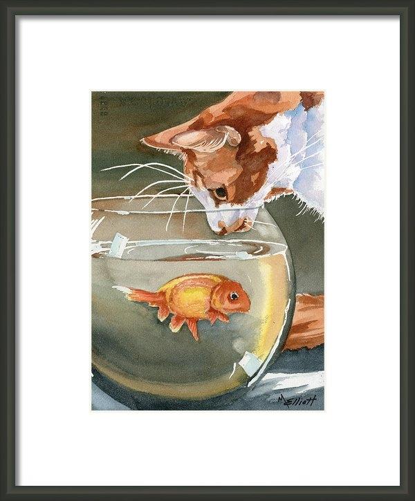 Marsha Elliott - Gone Fishin Print