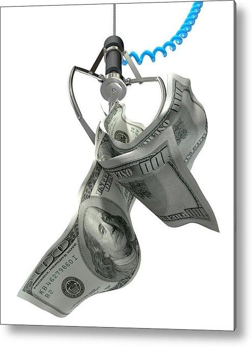 Allan Swart - US Dollars In A Robotic C... Print