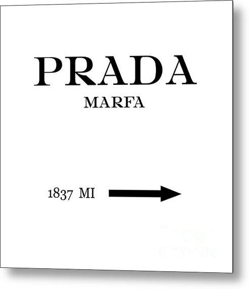Edit Voros - Prada Marfa Mileage Dista... Print