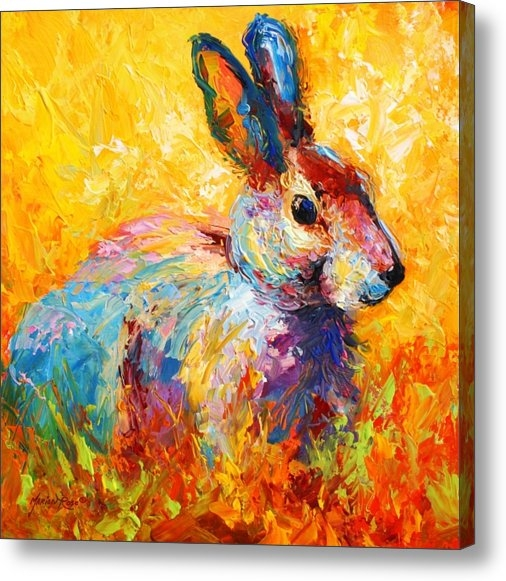 Marion Rose - Forest Bunny Print