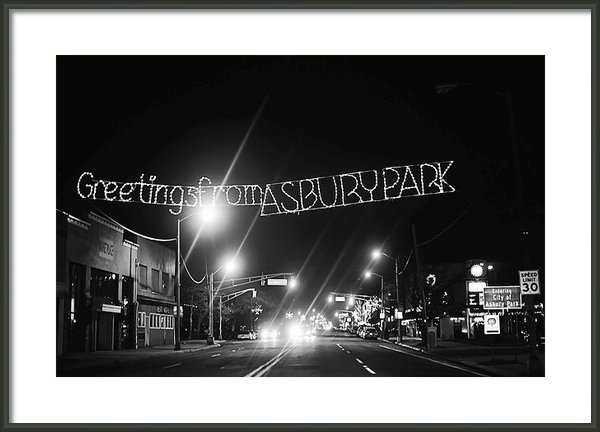 Terry DeLuco - Greetings from Asbury Par... Print