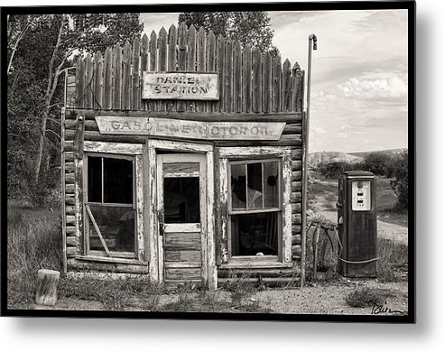Peggy Dietz - Daniel Station in Wyoming Print