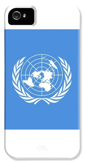 Bruce Stanfield - The United Nations Flag  ... Print