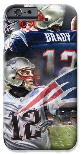 Mike Oulton - New England Patriots Print