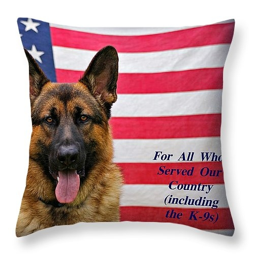 Sandy Keeton - German Shepherd - U.S.A. ... Print