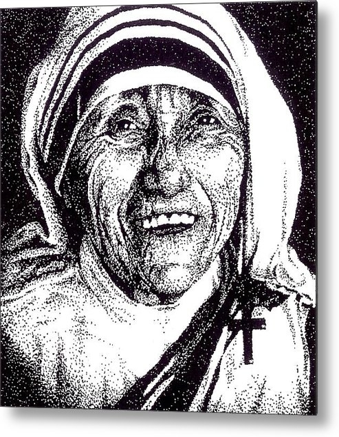 Darcie Cristello - Mother Teresa Print