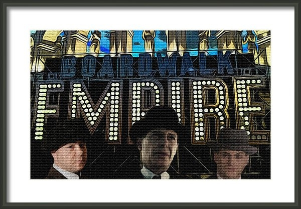 Glenn Cotler - Boardwalk Empire Print