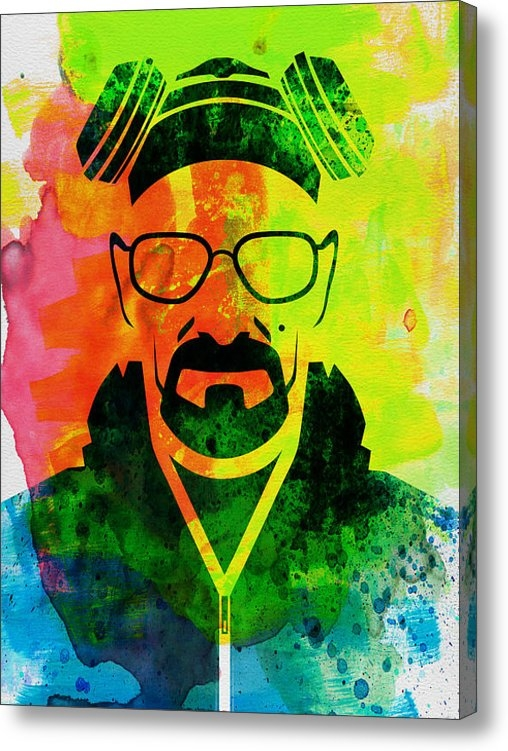 Naxart Studio - Walter Watercolor Print