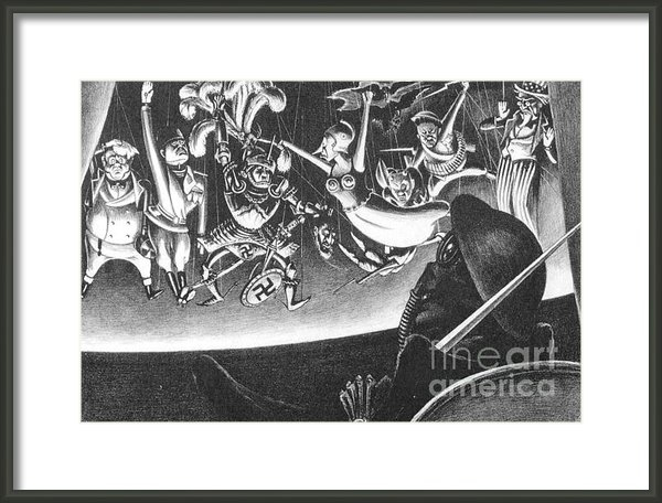 Pg Reproductions - Dance Macabre Print