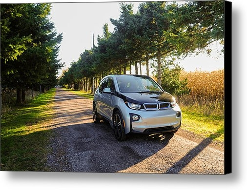 Jarvis Chau - BMW i3 Electric Vehicle Print