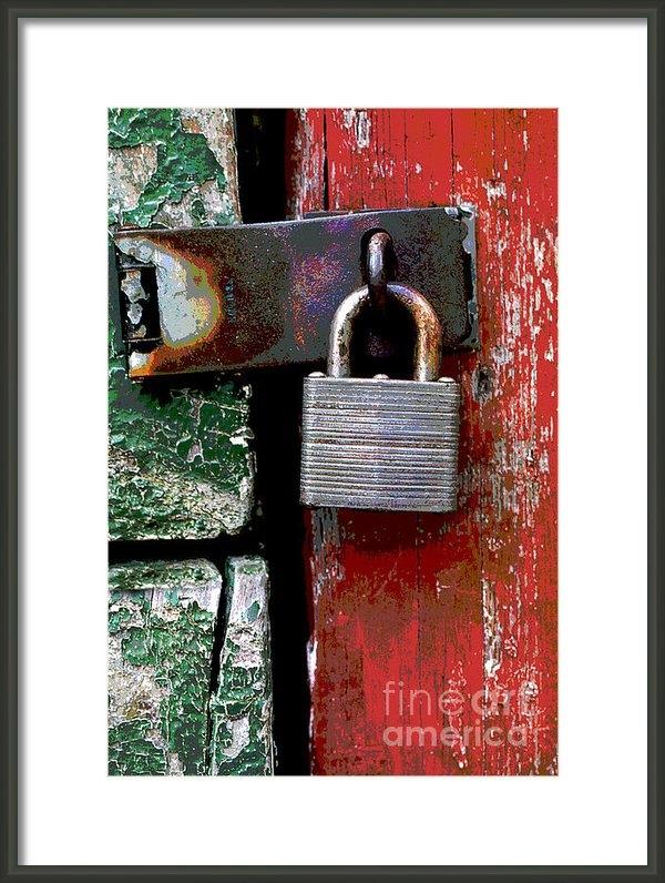Rich Killion - Lock 1 Print