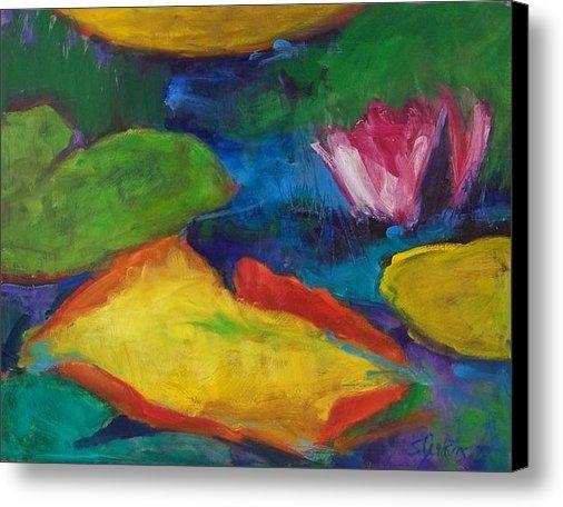 Susan Jenkins - Lily Pond Print