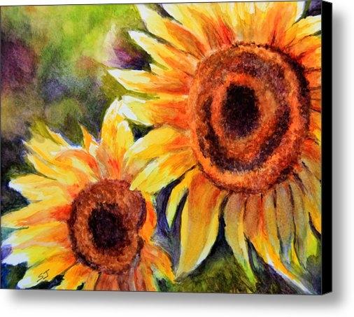 Susan Jenkins - Sunflowers 2 Print
