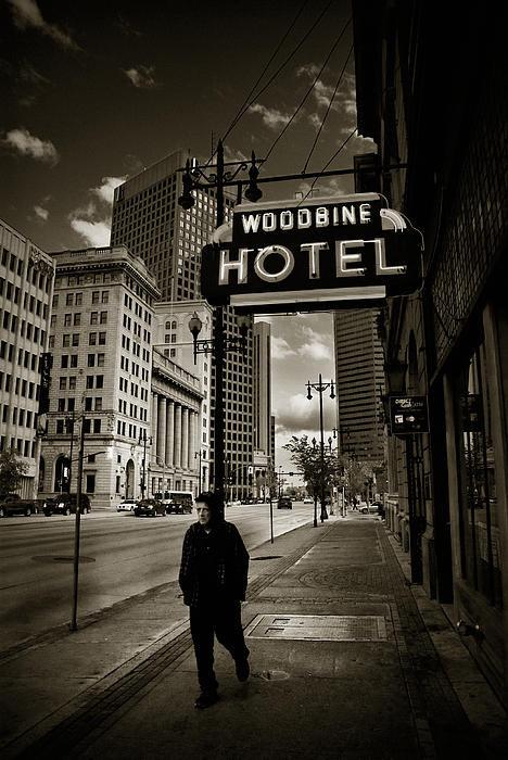 Bryan Scott - Woodbine Man Print