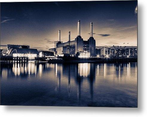 Ian Hufton - Battersea Toned Print