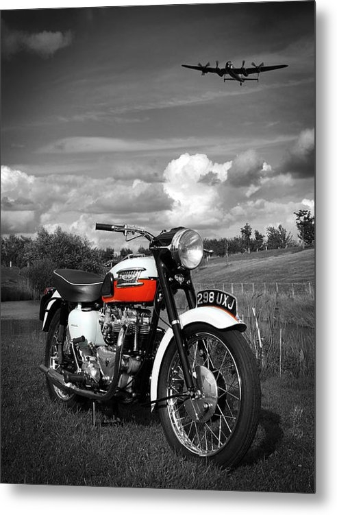 Mark Rogan - Triumph Bonneville T120 Print
