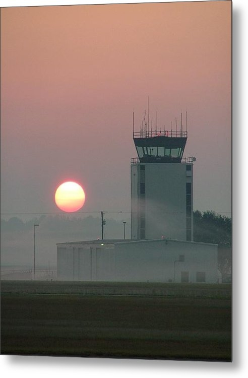 Phil Rispin - Sunrise in the Fog at Eas... Print