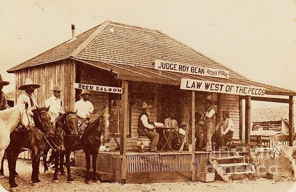 Pg Reproductions - Law West of the Pecos Print
