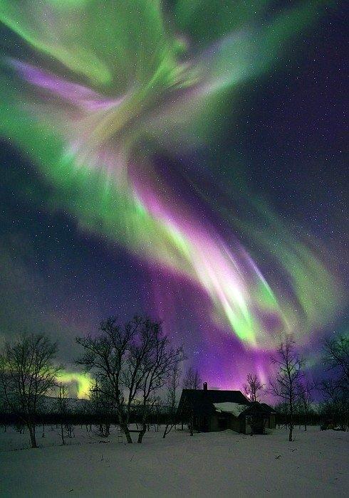 Science Photo Library - Aurora borealis Print
