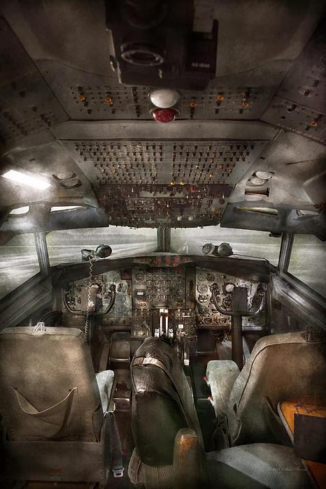 Mike Savad - Pilot - Boeing 707  - Coc... Print