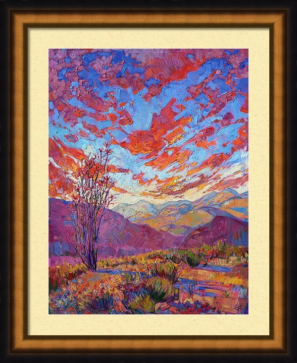 Erin Hanson - Ocotillo Sky Print