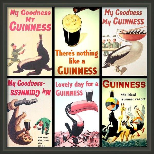 Nomad Art And  Design - Vintage Guinness  Print