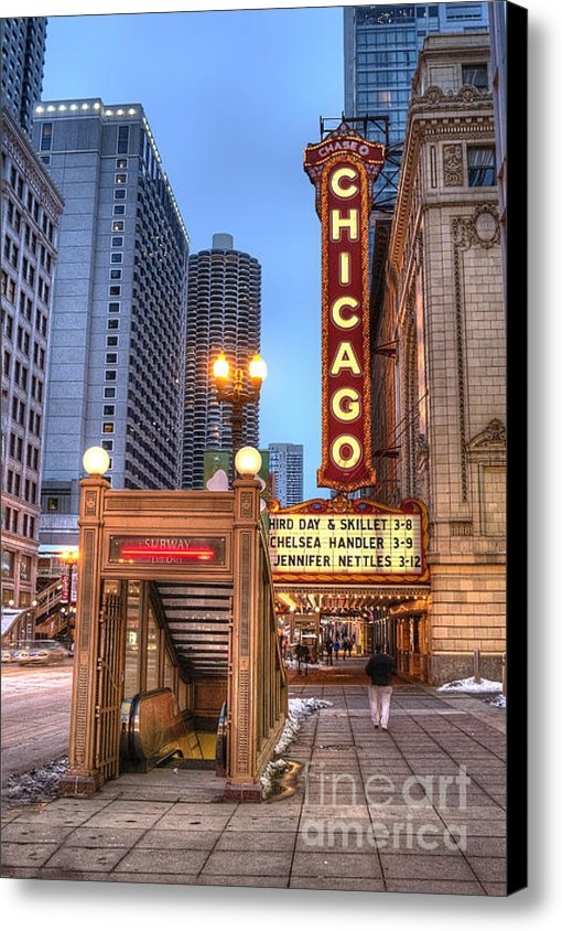 Twenty Two North Photography - State Street in Chicago Print