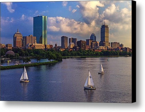 Rick Berk - Boston Skyline Print