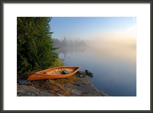 Larry Ricker - Foggy Morning on Spice La... Print